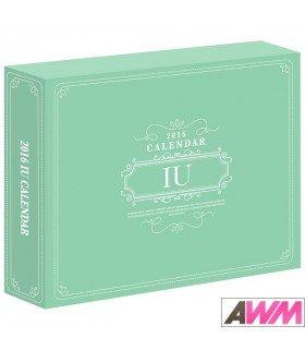 IU (아이유) IU Calendrier officiel 2016 (édition coréenne)