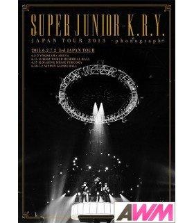 Super Junior-K.R.Y - SUPER JUNIOR-K.R.Y. Japan Tour 2015 - phonograph - (DVD) (édition normale japonaise)