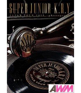 Super Junior-K.R.Y - SUPER JUNIOR-K.R.Y. Japan Tour 2015 - phonograph - (2DVD) (édition limitée japonaise)