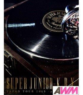 Super Junior-K.R.Y - SUPER JUNIOR-K.R.Y. Japan Tour 2015 - phonograph - (BLU-RAY) (édition limitée japonaise)