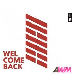 iKON - WELCOME BACK (ALBUM) (édition japonaise)