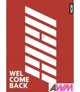 iKON - WELCOME BACK (ALBUM+DVD) (édition japonaise)
