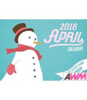 APRIL (에이프릴) Winter Special Album - Snowman (édition coréenne)
