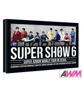Super Junior (슈퍼주니어) Super Show 6 - World Tour in Seoul (2DVD + PHOTOBOOK) (édition coréenne)