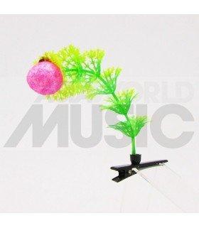 Plante à cheveux - Fraise fantaisie (rose)