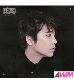 Affiche officielle Lee Hong Ki (FTIsland) - FM302 (Black Version)