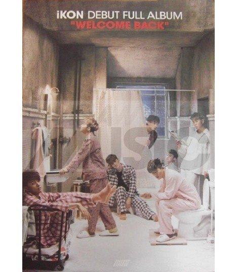 Affiche officielle iKON - WELCOME BACK Full Album