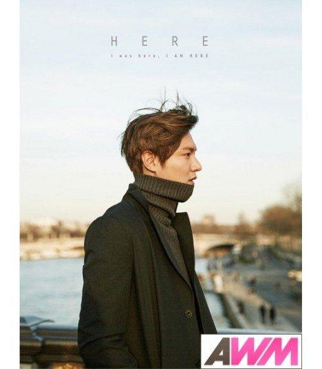 Lee Minho (이민호) HERE - I was here, I AM HERE (PHOTOBOOK + DVD) (édition coréenne)