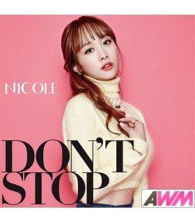 Nicole - DON'T STOP (SINGLE) (édition normale japonaise)
