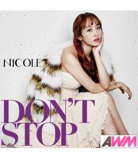 Nicole - DON'T STOP (Type C / SINGLE+LIVRET) (édition limitée japonaise)