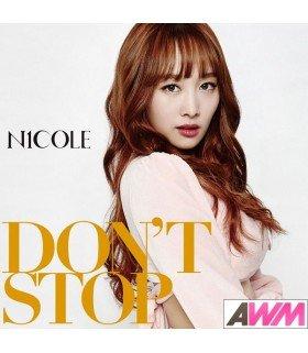 Nicole - DON'T STOP (Type B / SINGLE+DVD) (édition limitée japonaise)