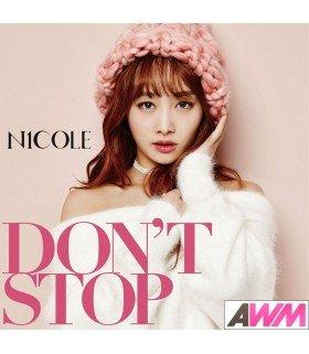 Nicole - DON'T STOP (Type A / SINGLE+DVD) (édition limitée japonaise)