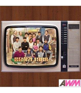 Reply 1988 (응답하라 1988) Original Soundtrack Director's Edition (CD+DVD) (édition coréenne)
