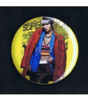 Badge SUPER JUNIOR Mr. Simple Leeteuk 001
