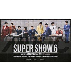 Affiche officielle Super Junior - Super Show 6 in Seoul DVD