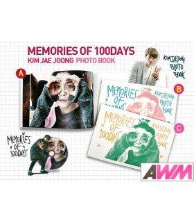 Kim Jaejoong (김재중) Memories of 100 Days (PHOTOBOOK + DVD) (édition limitée coréenne)