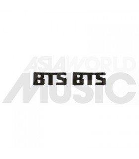 BTS - Boucles d'oreilles Bangtan Logo (Black)