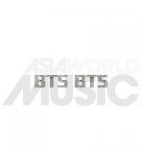 BTS - Boucles d'oreilles Bangtan Logo (Silver)