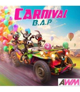 B.A.P (비에이피) Mini Album Vol. 5 - Carnival (édition coréenne)