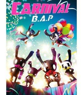 B.A.P (비에이피) Mini Album Vol. 5 - Carnival (édition spéciale coréenne)