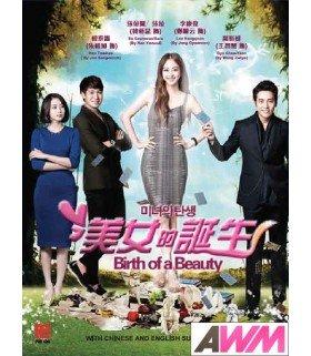 Birth of a Beauty (미녀의 탄생) Coffret Drama Intégrale (5DVD) (Import)