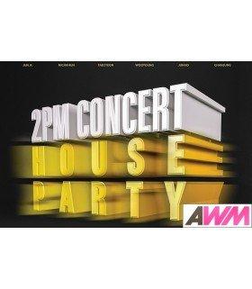 2PM (투피엠) 2015 2PM Concert House Party In Seoul (2DVD + PHOTOBOOK) (édition coréenne)