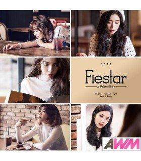 Fiestar ( 피에스타) Mini Album Vol. 2 - A Delicate Sense (édition coréenne)