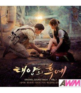 Descendants Of The Sun (태양의 후예) Original Soundtrack Vol. 1 (édition coréenne)
