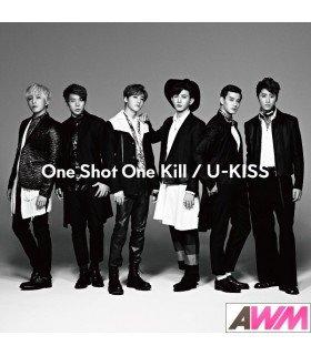 U-Kiss - One Shot One Kill (ALBUM+DVD) (édition japonaise)