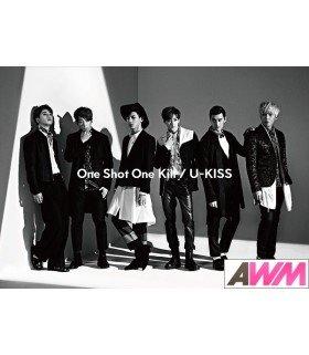 U-Kiss - One Shot One Kill (ALBUM+BLU-RAY) (édition limitée japonaise)