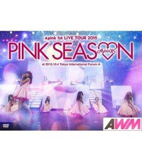 Apink - Apink 1st Live Tour 2015 -Pink Season- (2DVD) (édition taiwanaise)