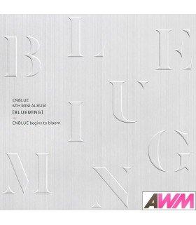 CNBLUE (씨엔블루) Mini Album Vol. 6 - Blueming (Version B) (édition coréenne)