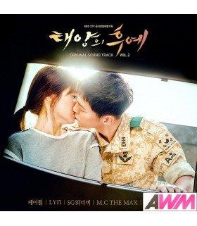 Descendants Of The Sun (태양의 후예) Original Soundtrack Vol. 2 (édition coréenne)