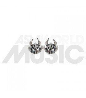 Boucles d'oreilles Knight Helmet (Barbare)