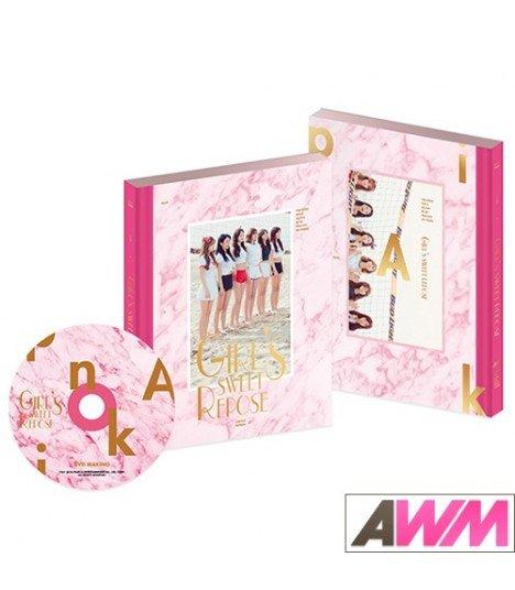 Apink (에이핑크) Girl's Sweet Repose (Photobook + DVD) (édition coréenne)