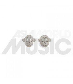Boucles d'oreilles Avance (Monkey / Silver)