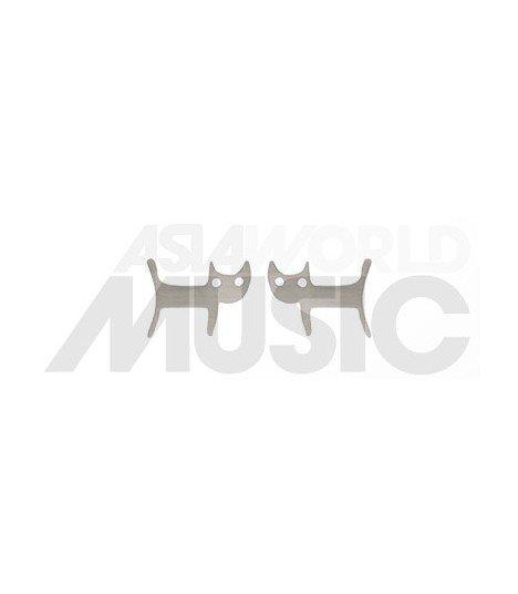 Boucles d'oreilles Avance (Cat / Silver)