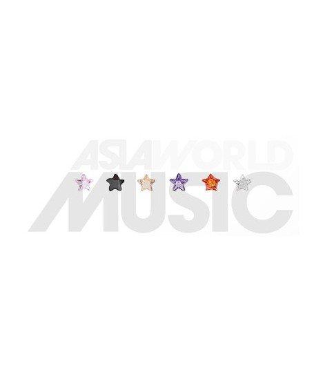 Boucles d'oreilles Catch Me - Stars (Set de 6)