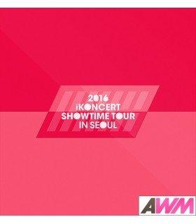 iKON (아이콘) 2016 iKONCERT SHOWTIME TOUR IN SEOUL CD (2CD + PHOTOBOOK) (édition coréenne)