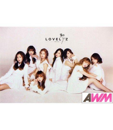 Affiche officielle Lovelyz - A New Trilogy (Poster type B)