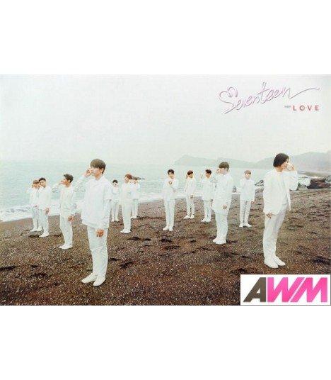 Affiche officielle SEVENTEEN - Love & Letter (Poster groupe)