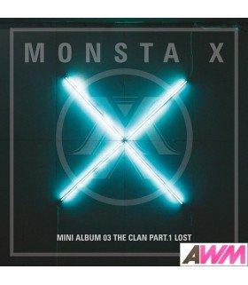 Monsta X (몬스타엑스) Mini Album Vol. 3 - The Clan 2.5 Part.1 Lost (LOST / FOUND Version) (édition coréenne)
