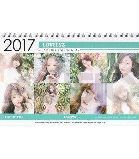 Lovelyz - Calendrier de Bureau 2017 / 2018 (Type A)