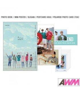 Boyfriend (보이프렌드) Photobook Boy Island - Our Story Adventure (édition limitée coréenne)