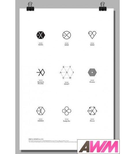 Affiche officielle EXO - EX'ACT (Poster Logo)