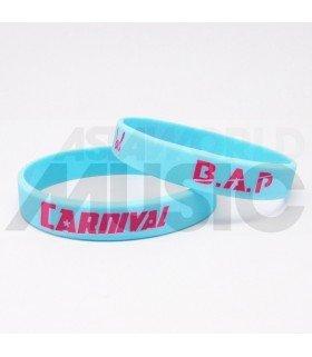 B.A.P - Bracelet Gravé - CARNIVAL (PINK / BLUE)