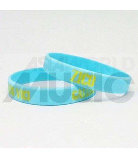 ZICO - Bracelet Gravé - GALLERY (VENI VEDI VICI) (YELLOW / BLUE)