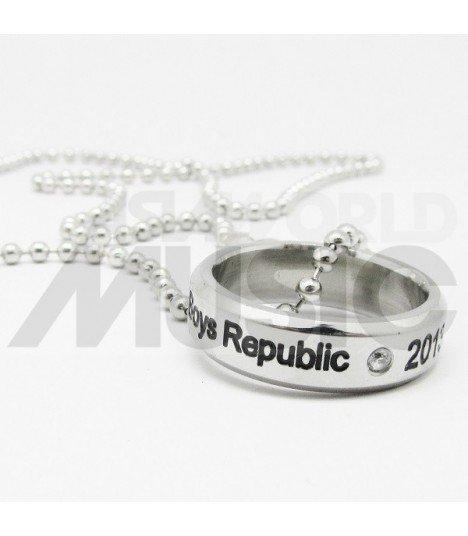 Boys Republic - Collier Bague Boys Republic 2013.06.05 (Double collier)