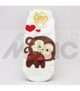 Socquettes Bear Bear Seoul - Kiss Monkey