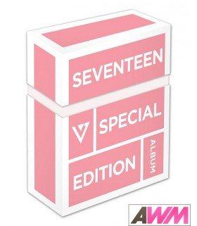 SEVENTEEN (세븐틴) Vol. 1 - LOVE & LETTER (Repackage Album / CD+2DVD) (édition limitée coréenne)